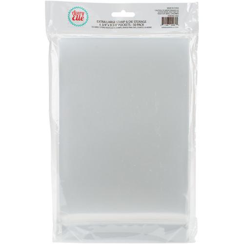 "Avery Elle Stamp & Die Storage Pockets 50/Pkg-Extra Large 6.75""X9.25"" -SS-5002 - 811568024625"