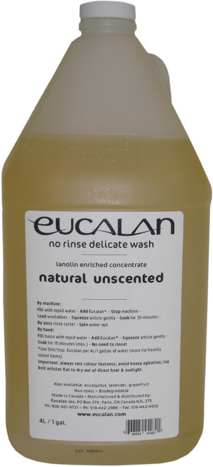 Eucalan Fine Fabric Wash 1gal-Unscented -45462 - 666884454621