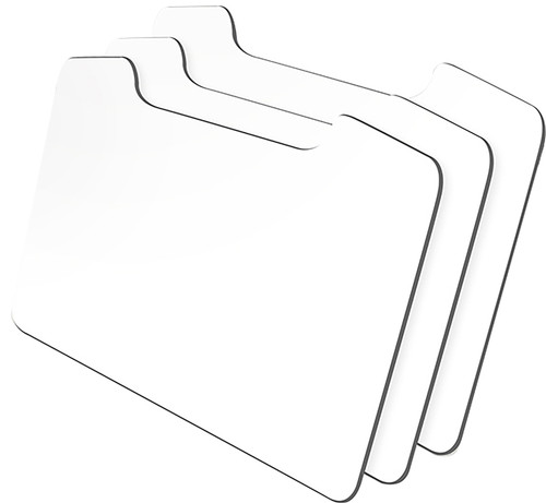 """Couture Creations Magnetic Storage Refill Sheet 3/Pkg-9.4""""X6.2"""" -CO724388"""