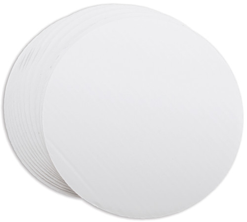 "Cake Boards-10"" Round White 12/Pkg -W2104102"
