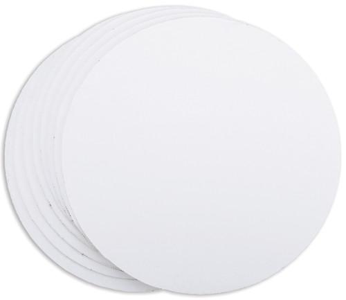 "Cake Boards-12"" Round White 8/Pkg -W2104129"