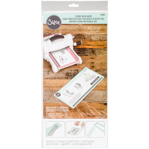 Sizzix Big Shot Accessory-Jewelry Studio Thin Die Adapter-661308 - 630454230281
