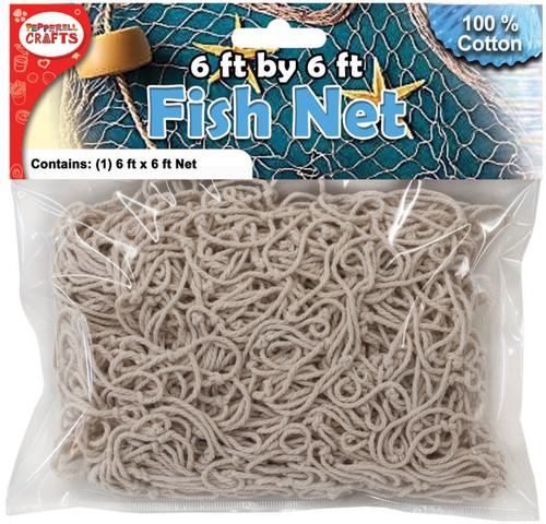Cotton Fish Net-6'x 6' -DECTN - 725879530051