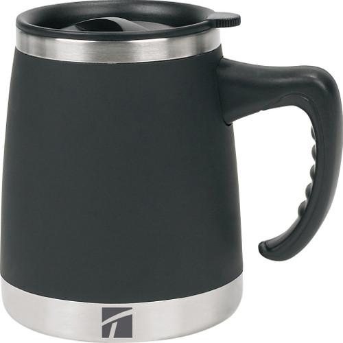 Umbria Desk Mug 15oz-Black -04715800