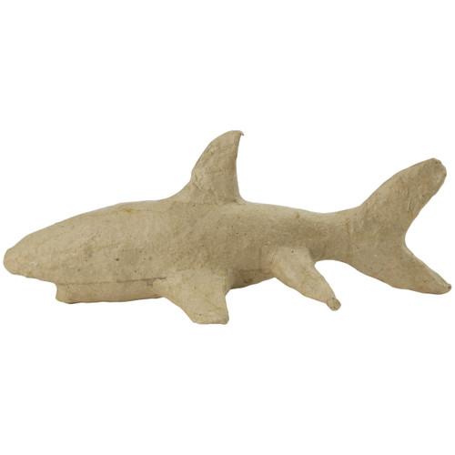 "Paper-Mache Figurine 4.5""-Shark -AP-158"