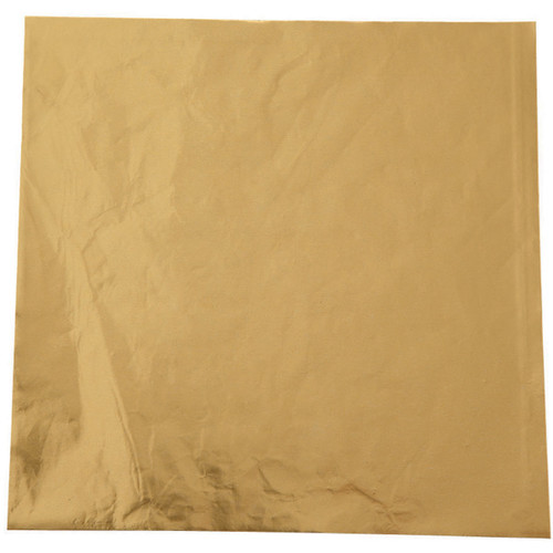 """Foil Candy Wrappers-Gold 50/Pkg 4""""X4"""" -W1904S-1197 - 070896191977"""