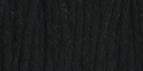 Design Works Craft Yarn 20yd-Black -100-36