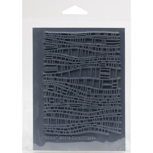 """Christi Friesen Texture Stamp 4.25""""X5.5""""-Strata -CF6-768 - 810444027682"""