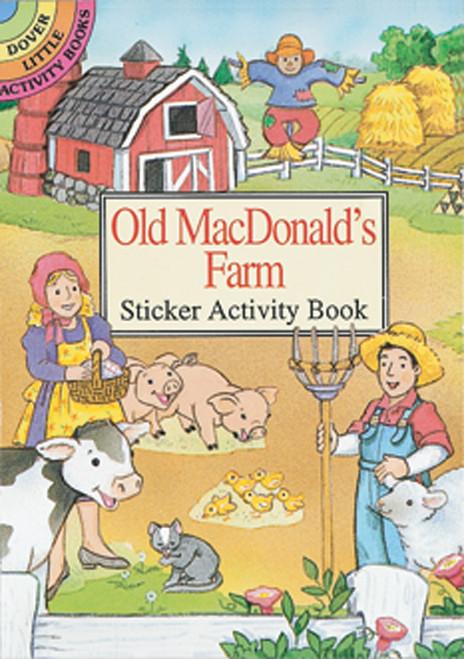 Dover Publications-Old Macdonald's Farm Stkr Actv Bk -DOV-29409