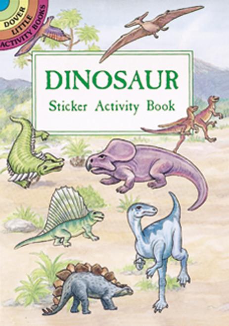 Dover Publications-Dinosaur Sticker Activity Book -DOV-40053