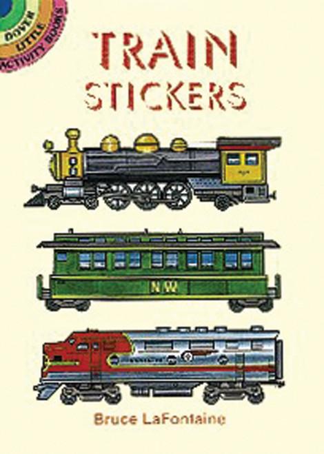 Dover Publications-Train Stickers -DOV-40301 - 8007594031039780486403106