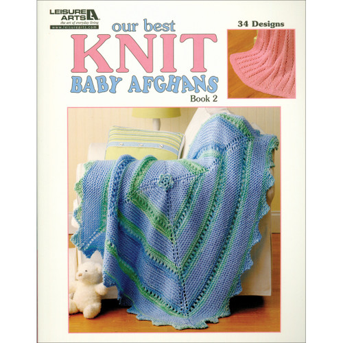 Leisure Arts-Our Best Knit Baby Afghans Book 2 -LA-5124 - 0289060512479781609000325