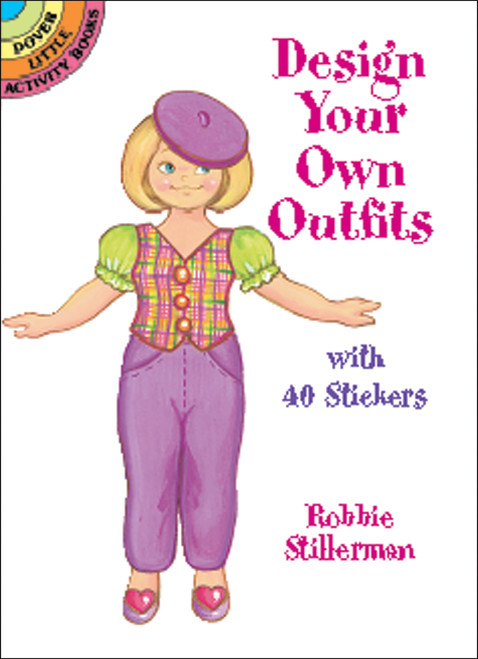 Dover Publications-Design Your Own Outfits W/Stickers -DOV-42346 - 8007594234609780486423463