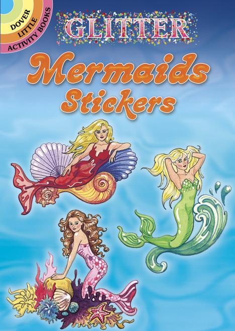 Dover Publications-Glitter Mermaids Stickers -DOV-45674 - 8007594567419780486456744