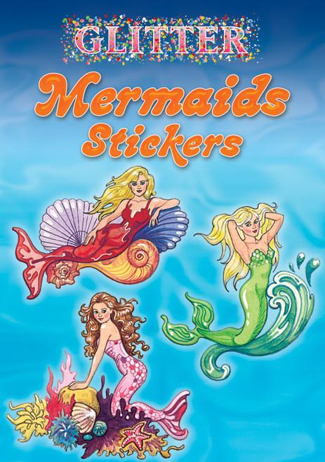 Dover Publications-Glitter Mermaids Stickers -DOV-45674