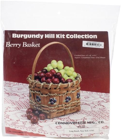 "Burgundy Hill Basket Kit-Berry Basket 4""X4""X4.5"" -12800-12828 - 752303128287"