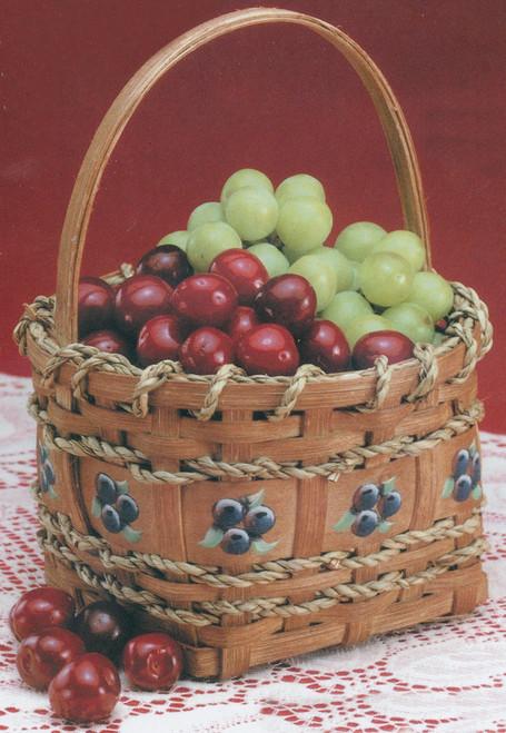 "Burgundy Hill Basket Kit-Berry Basket 4""X4""X4.5"" -12800-12828"