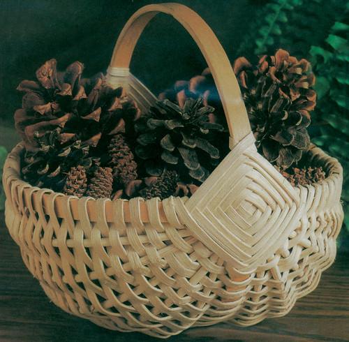 """Blue Ridge Basket Kits-Melon Basket 8""""X9""""X8"""" -12666"""