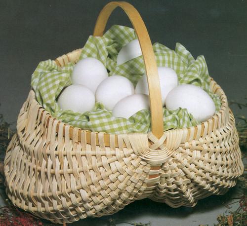 """Blue Ridge Basket Kits-Egg Basket 7""""X7"""" -12668"""