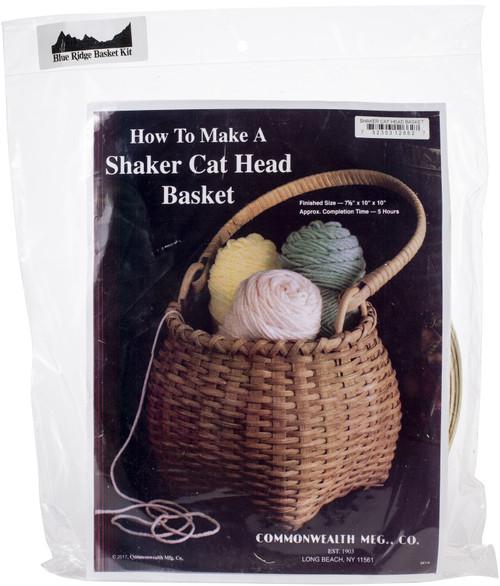 """Blue Ridge Basket Kits-Shaker Cat Head 10""""X7.5"""" -12662 - 752303126627"""
