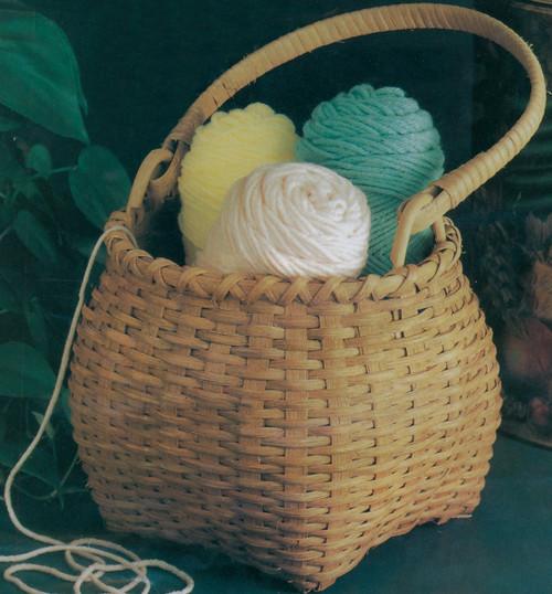 """Blue Ridge Basket Kits-Shaker Cat Head 10""""X7.5"""" -12662"""
