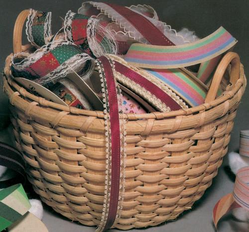 """Blue Ridge Basket Kits-Grans Cotton Basket 9.5""""X7"""" -12648"""