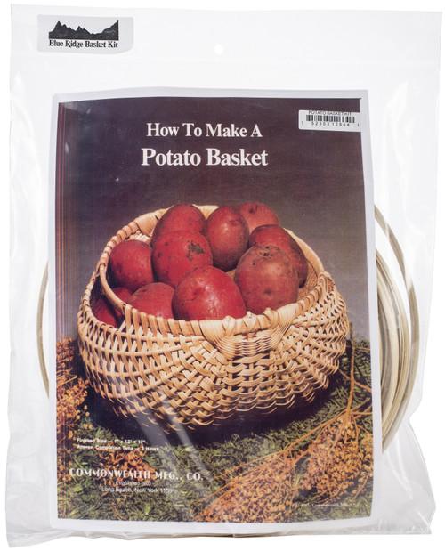 """Blue Ridge Basket Kits-Potato Basket 7""""X12""""X12"""" -12664 - 752303126641"""