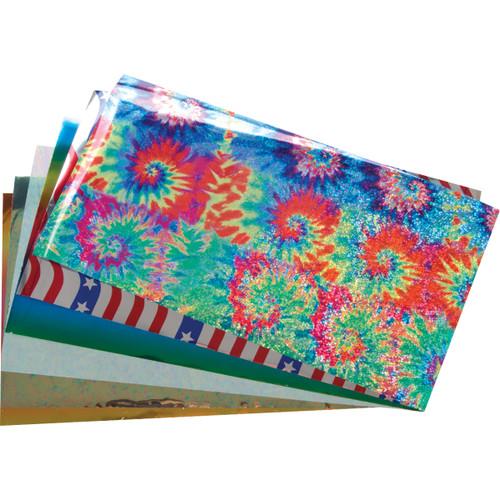 """Lisa Pavelka Craft Foil Kit 4.75""""X8.5"""" 6/Pkg-Celebration -LP271-26995"""