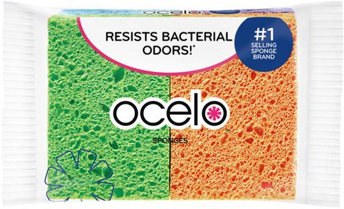 O-Cel-O Cellulose Sponges 4/Pkg-7274-FD