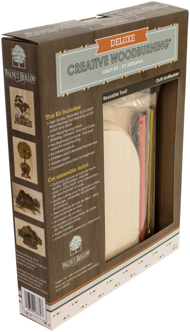 Deluxe Woodburning Craft Kit-WH28370