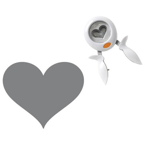 """Fiskars Squeeze Punch X-Large-Heart, 2"""" -SQXL-1741"""
