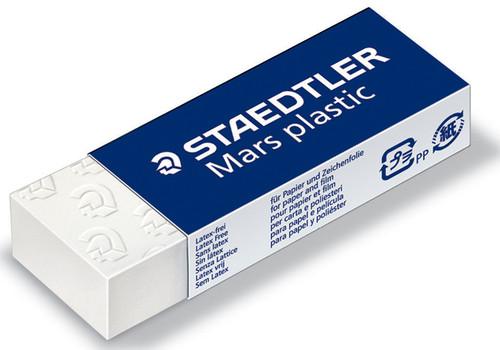 Mars Plastic Eraser-White -52650BK