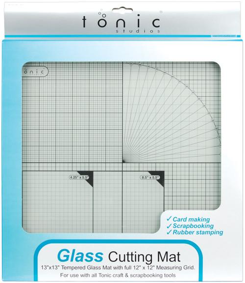 "Tempered Glass Cutting Mat-12""X12"" -TGM465 - 8410791035025060193543505"
