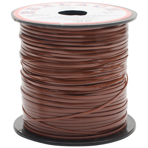 """Rexlace Plastic Lacing .0938""""X100yd-Brown -RX100-12 - 725879110154"""