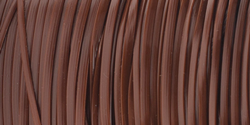 """Rexlace Plastic Lacing .0938""""X100yd-Brown -RX100-12"""