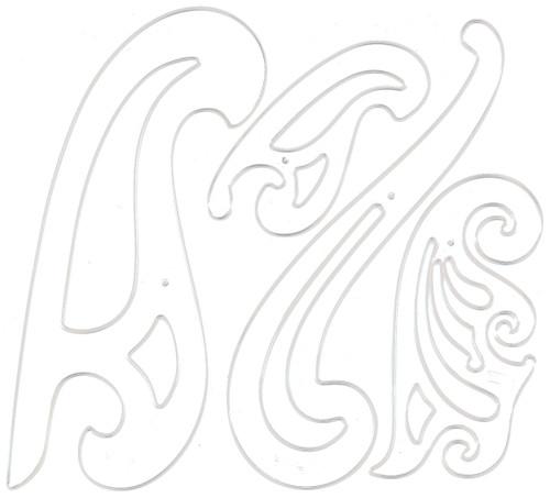 French Curve Set 4/Pkg-C4917837