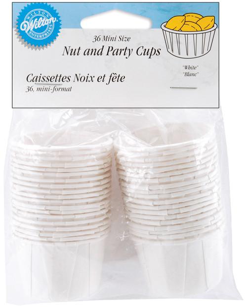 Nut & Party Cups-White 36/Pkg 1.25oz -W415500 - 070896415059