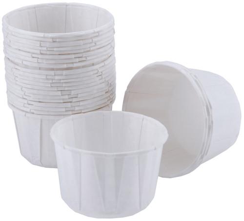 Nut & Party Cups-White 24/Pkg 3.25oz -W415400