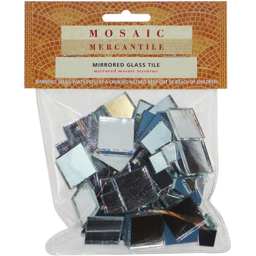 Mirrored Glass Tiles 100/Pkg-Square -MIRSQU - 638799920058