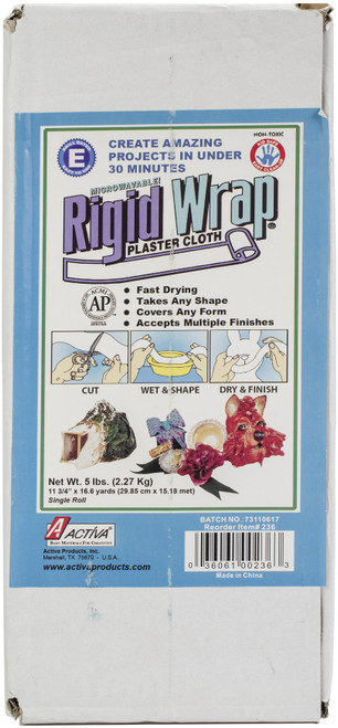 Rigid Wrap Plaster Cloth 5lb -236 - 036061002363