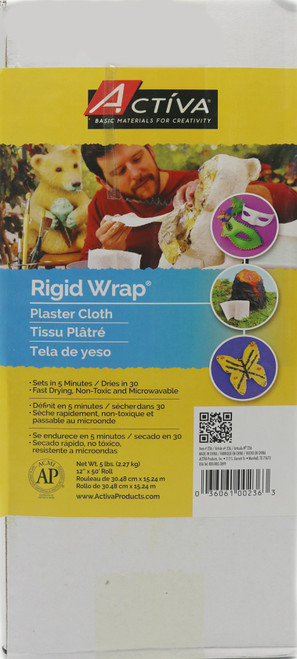 Rigid Wrap Plaster Cloth 5lb -236