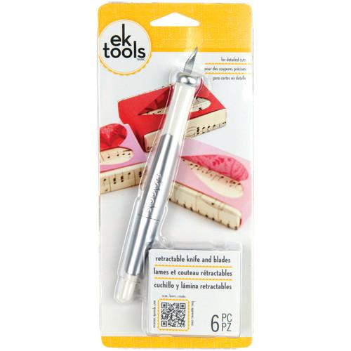 Retractable Knife-W/5 Blades -E5400045 - 015586945003