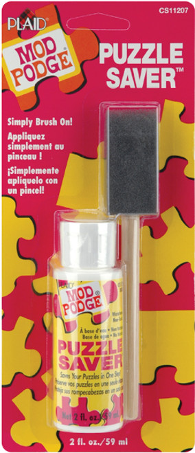 Mod Podge Puzzle Saver W/Foam Brush-2oz -CS11207 - 028995112072