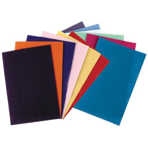 """Felt Sheets 9""""X12"""" 12/Pkg-Assorted Colors -3907-01"""