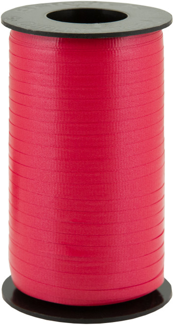 "Splendorette Crimped Curling Ribbon .1875""X500yd-Hot Red -1C-13 - 026521019765"