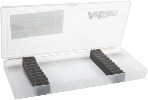 """ArtBin Brush Box-14""""X6""""X1.25"""" Translucent -KW903"""