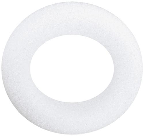 """Styrofoam Wreath-6""""X1.25"""" -W61WS"""