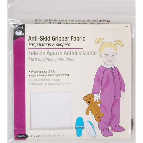 "Dritz Anti-Skid Gripper Fabric 11""X24""-White -564 - 072879269567"