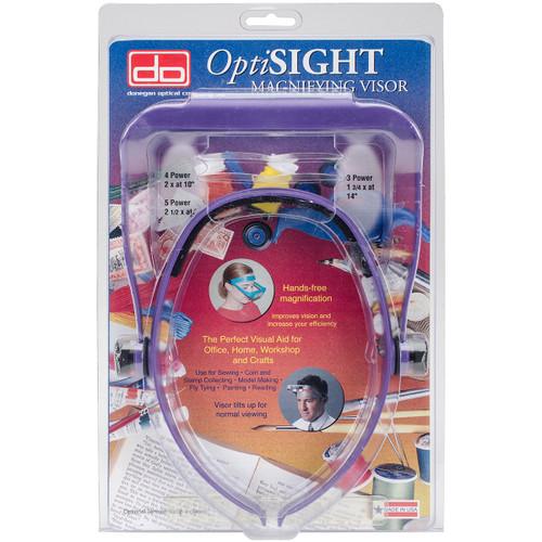 Donegan OptiSIGHT Magnifying Visor-Deep Purple -OSCDPUR - 633096001882