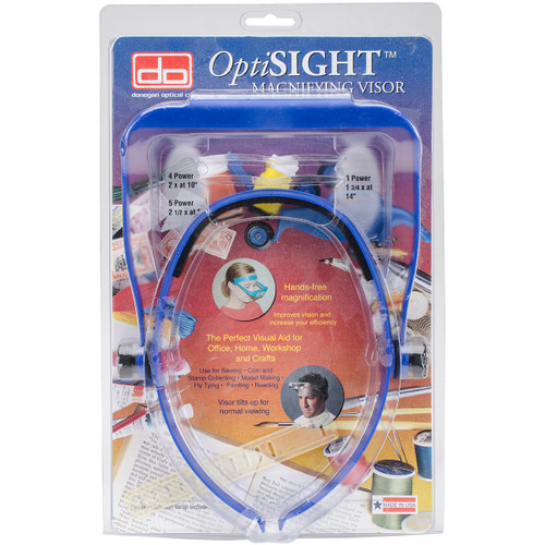 Donegan OptiSIGHT Magnifying Visor-Royal Blue -OSCROYAL - 633096001875